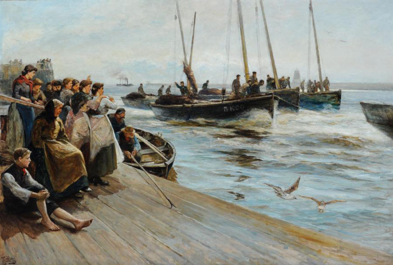 Robert Jobling Jobling Robert Jobling 1841 1923 John Nicholson Fine Art