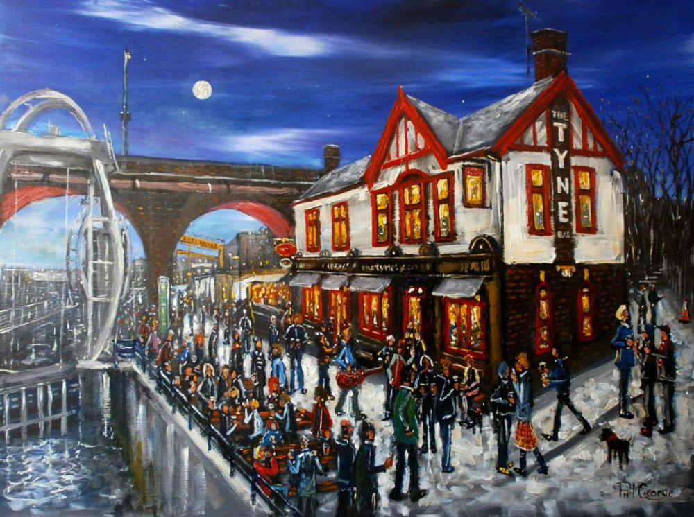 The Tyne Bar Newcastle John Nicholson Fine Art