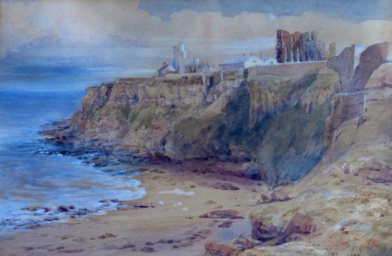 Tynemouth Priory and Lighthouse • John Nicholson Fine Art