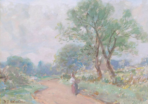 Figure in a Lane