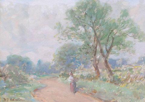 Figure in a Lane