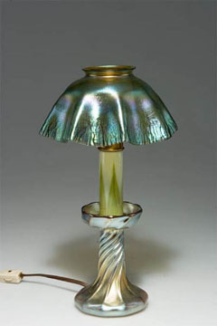 Favrile Candle Table Lamp by Tiffany