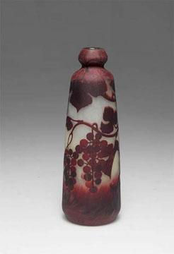 Muller Freres Raisin Vase