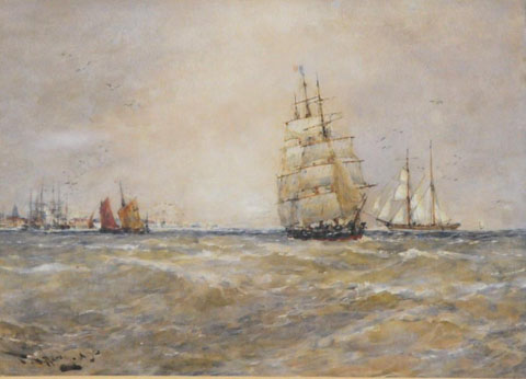 Shipping off the South Coast