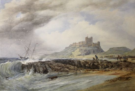 Bamburgh Castle 1871