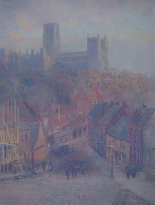 Durham Cathedral from Framwellgate