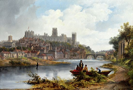 Durham from the North East