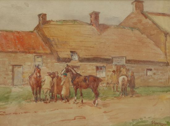 Horse Trading at the Wheatsheaf Inn Egton