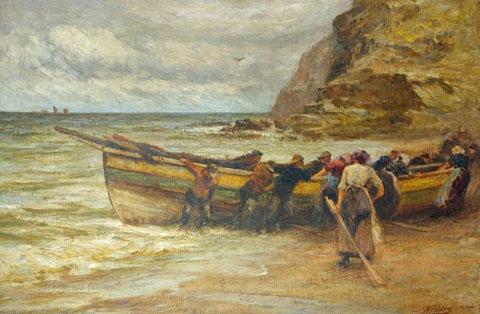 Landing the Coble