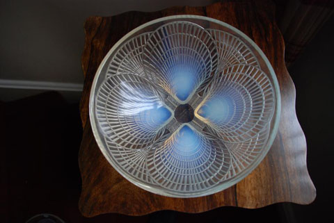 Lalique coquilles bowl