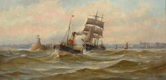 Leaving the Tyne