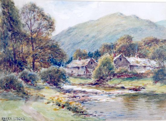 Rossthwaite Village Borrowdale
