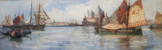 The Entrance to the Grand Canal, Venice 1893