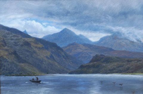 Fishing on a Highland Loch