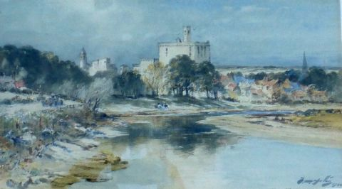 Warkworth from the South