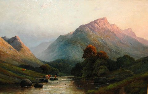 On a Welsh River