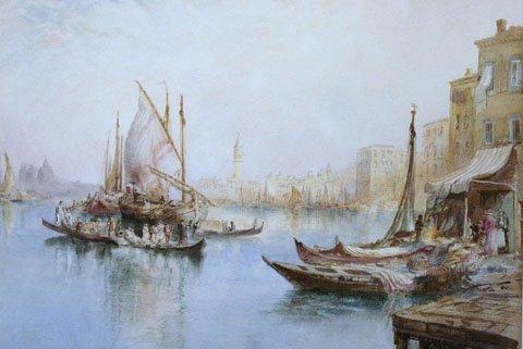 Venice by Richard Henry Wright
