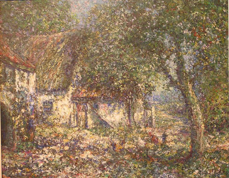 Impressionist Farmhouse