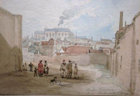 Reids Brewery from Clerkenwell Jail