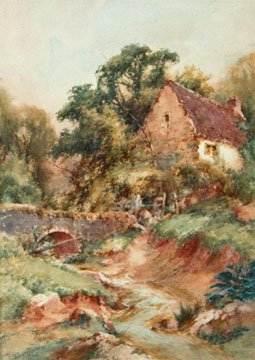 Cottage by a Bridge, near Alston