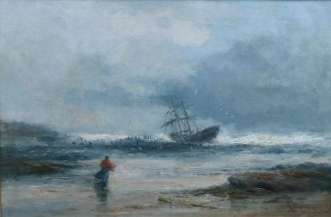 Aground on Long Sands