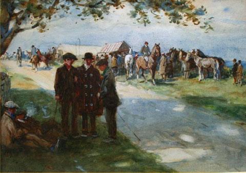Stagshaw Horse fair