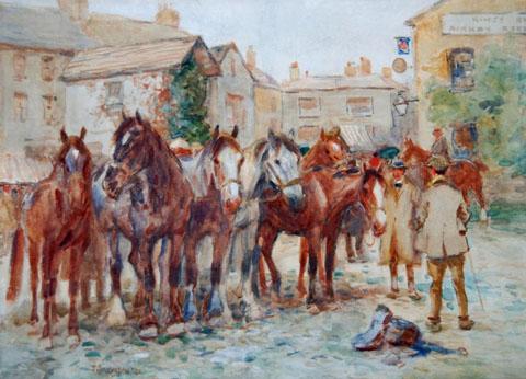 Kirkby Stephen Horse Fair