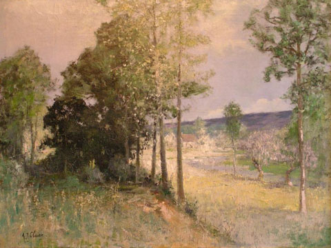 Normandy French Impressionist Landscape