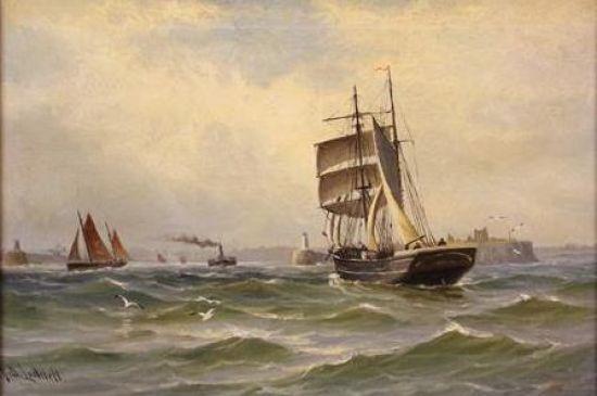 Entering the Tyne