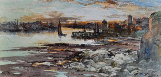 Evening, North Shields