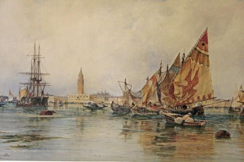 Boats in Bacino di San Marco, Venice