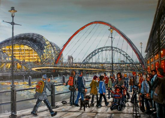 Millenium Bridge and the Sage, Newcastle upon Tyne