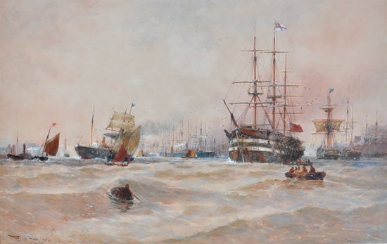 North Shields Harbour