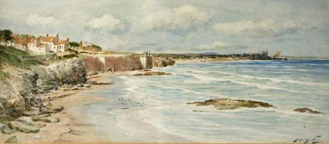Old Hartley, on the Northumberland Coast