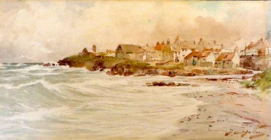 Seaton Sluice from the North