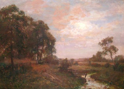 River Landscape - Evening