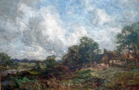 Northern Impressionist Landscape