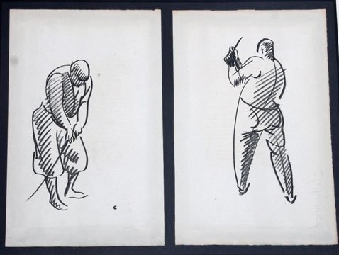 A Pair of Golfers