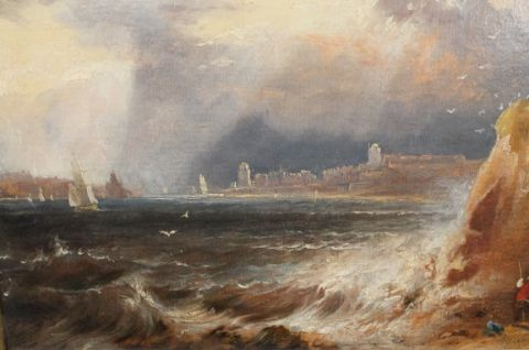 The Entrance to the Tyne, 1841