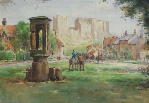 The Northumberland Hunt, Bamburgh.