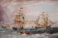 The Maranham off Dover