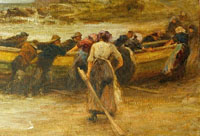 Landing the Coble