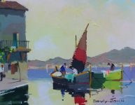 Fishing boats, Cassis