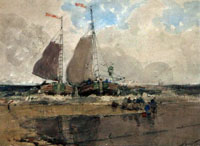 The Landing, Dutch Fishing Boats