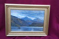 Fishing on a Highland Loch