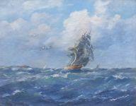 Clipper at Full Sail