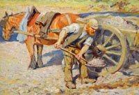 Collecting Gravel